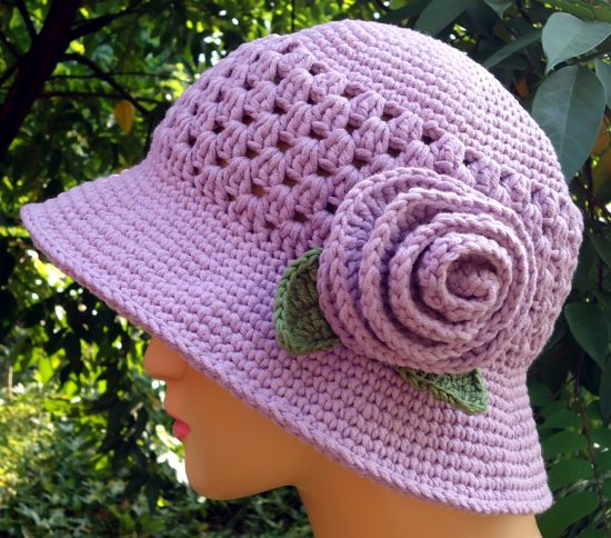 Free Pattern Crochet Cloche Hat