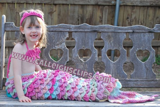 Mermaid Princess Cuddle Set
