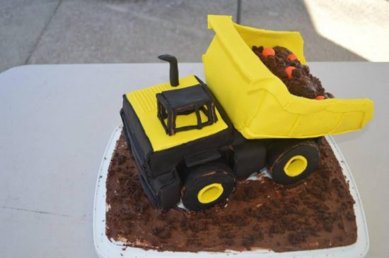 Construction Cake Ideas Very Easy Video Instructions