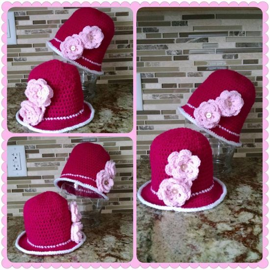 Crochet Cloche Hats