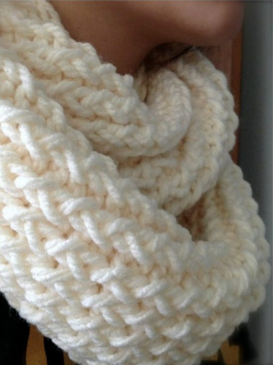 Loom Knitted Scarf Patterns