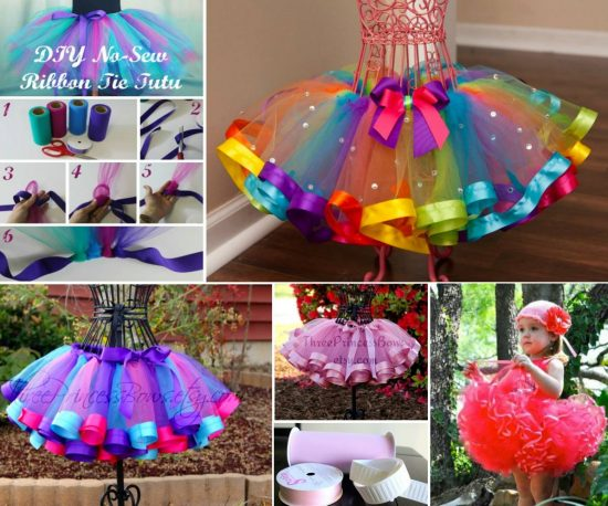 No Sew Tutu and Ribbon Edged Tutu Tutorials