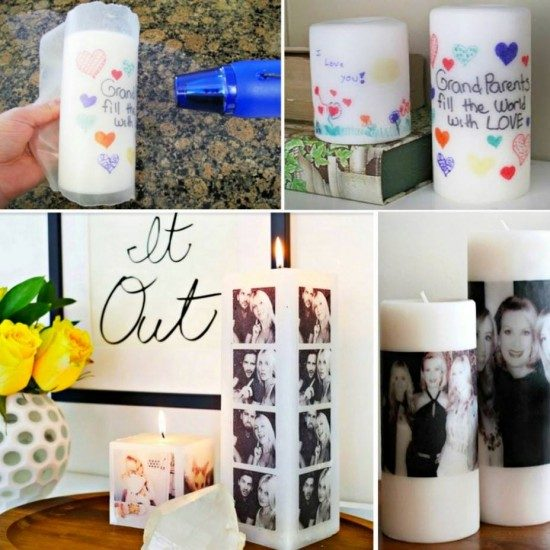 Photo Candles Tutorial