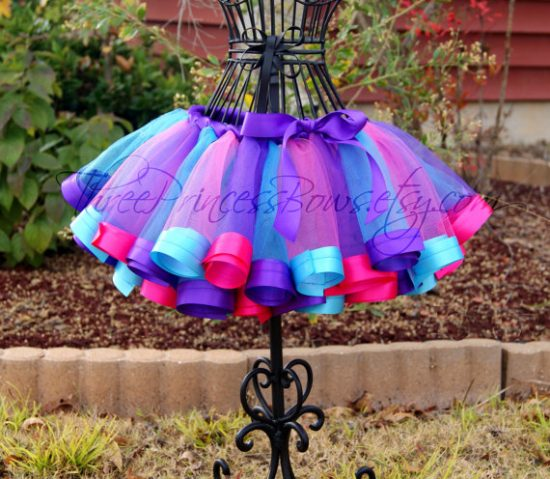 Ribbon Trim Tutu