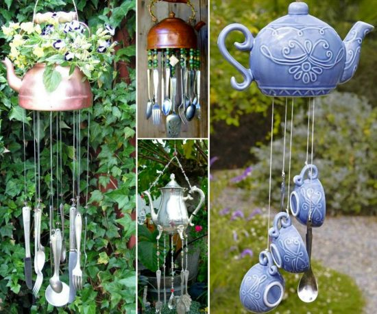 How To Make A Teapot Wind Chime Easily The Whoot