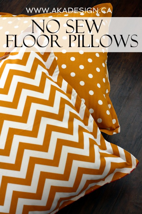 Giant Floor Pillows For Lounging Around The WHOot