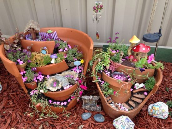 Broken Fairy Pot Gardens