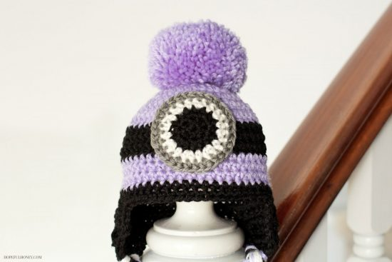 Evil Minion Crochet Hat Free Pattern