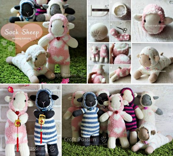 Sock Sheep Tutorial