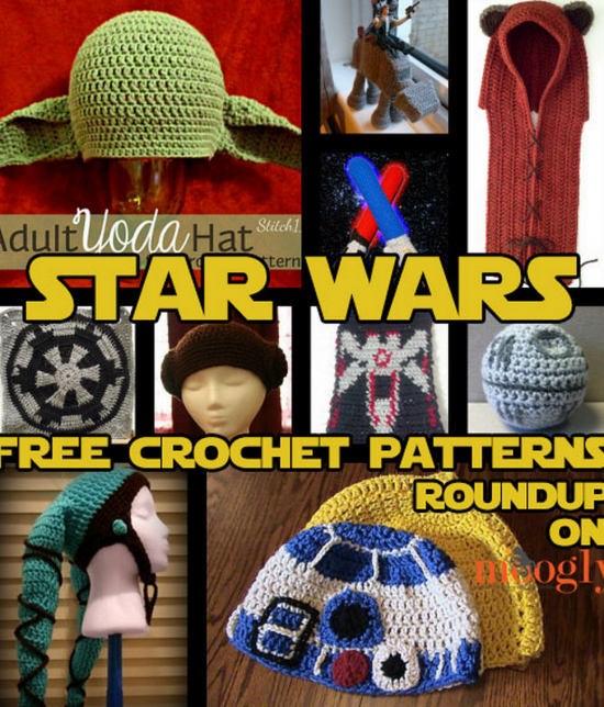 Star Wars 10 Free Crochet Patterns Round Up