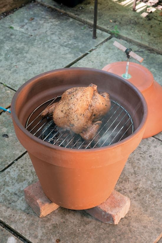 Clay Pot Smoker Tutorial