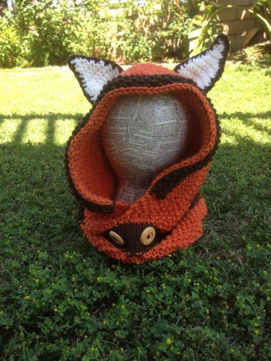 Fox Cowl Free Pattern