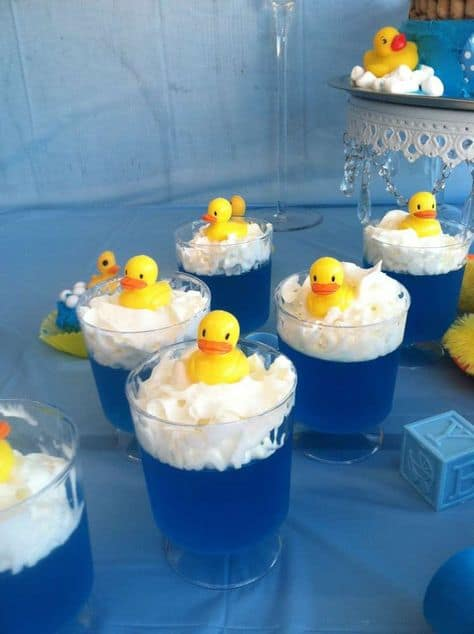 Attractive Rubber Ducky Baby Shower Punch