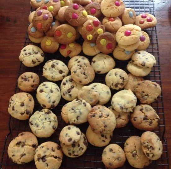 100 Cookies from One Batch