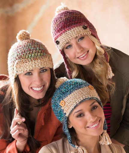 Crochet Aviator Hats Free Patterns