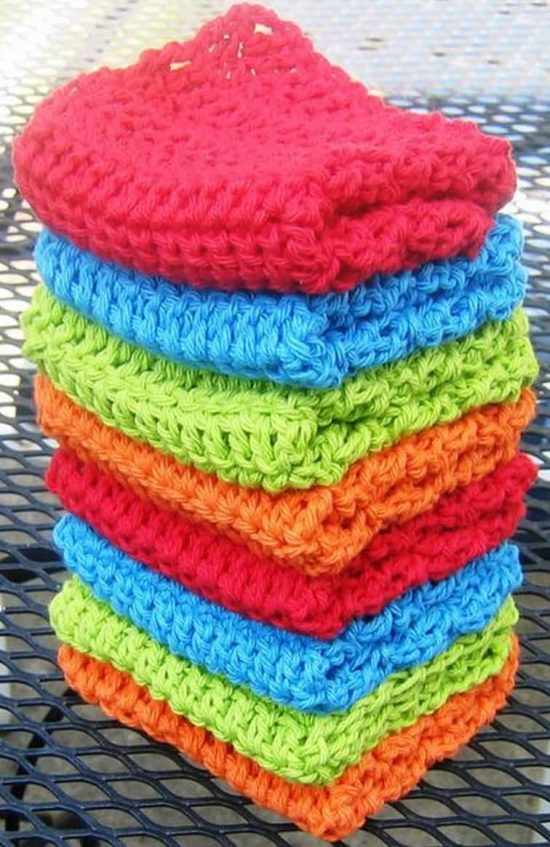 Crochet Dishcloth FREE Patterns