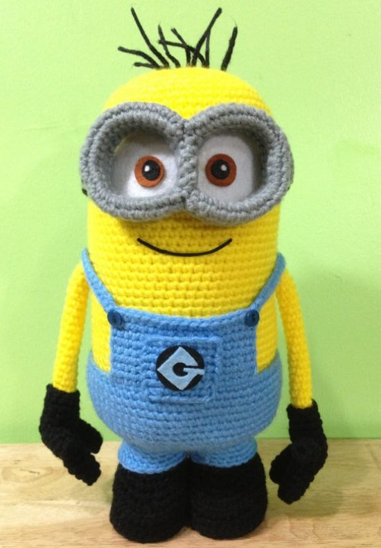 Minion Crochet Free Pattern