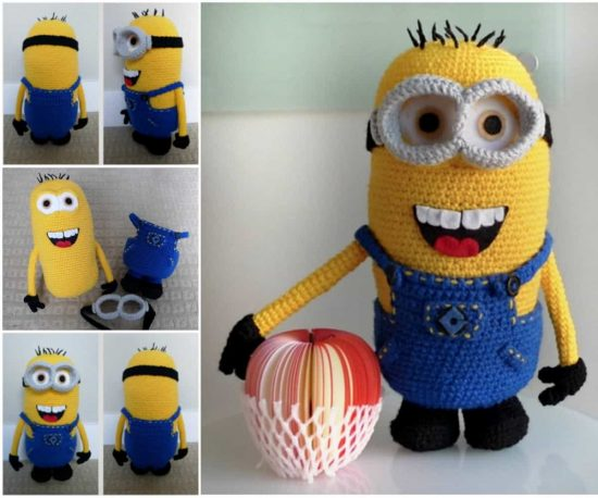 Minion Free Crochet Pattern Collection All The Best Ideas Adorable Free Minion Crochet Pattern