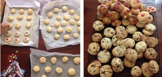 One Hundred Cookies from a single batch