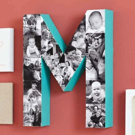 Letter Collage DIY Video Tutorial