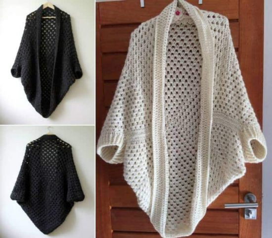 adf5616e2 Crochet Cocoon Shrug Pattern Ideas