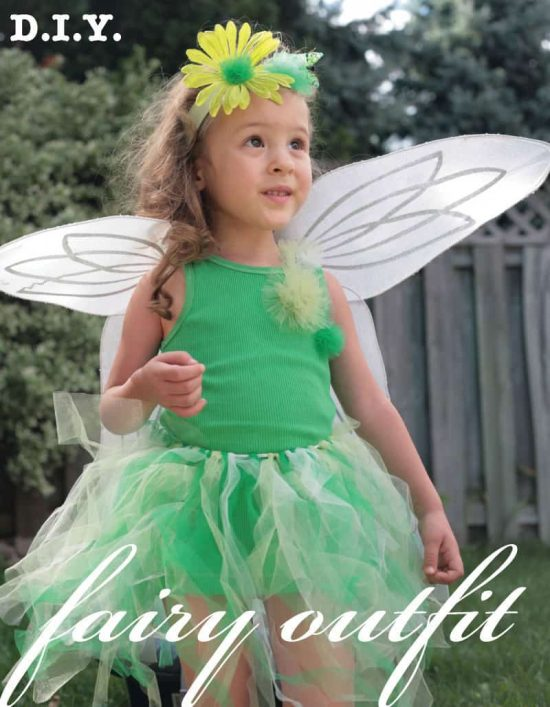 DIY No Sew Fairy Tutu Skirt Tutorial