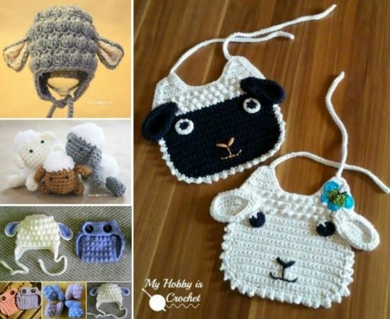 Lamb Crochet Projects Free Patterns