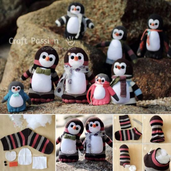 Sock Penguins