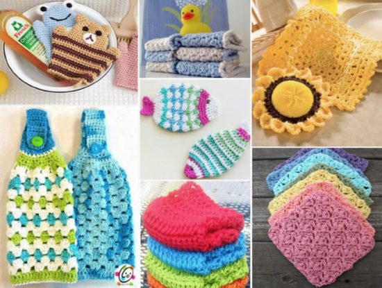 Dish Scrubbies Free Crochet Patterns