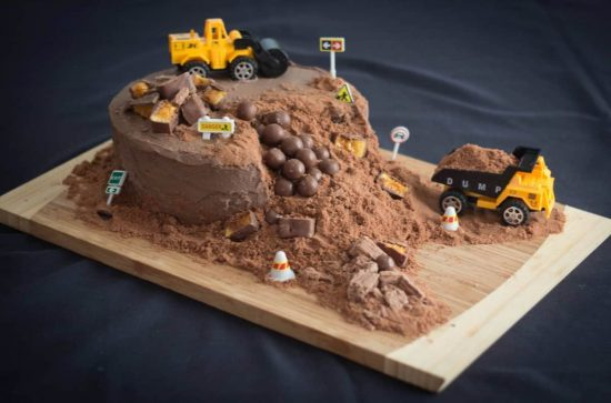 Diy Construction Birthday Cake