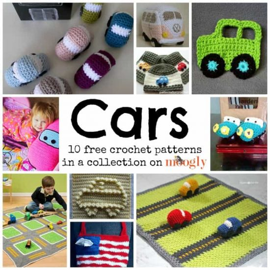 10 FREE Car Crochet Patterns