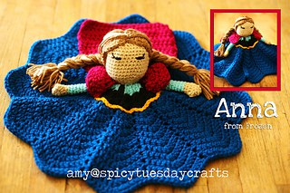 Anna Princess Lovey FREE Crochet Pattern