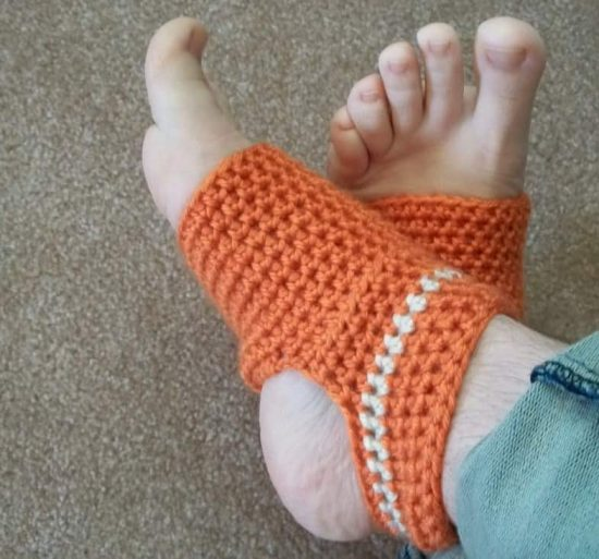 Crochet Yoga Socks Free Pattern