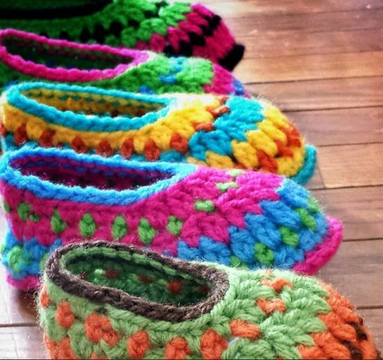 Galilee Crochet Booties