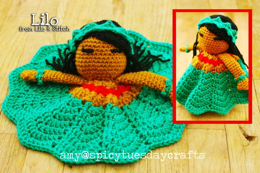 Lilo Princess Lovey FREE Crochet Pattern