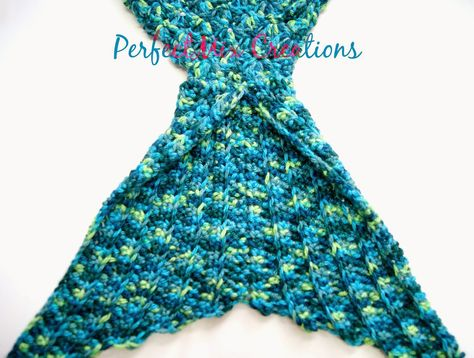 Mermaid Tail Free Crochet Pattern