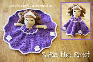 Sofia Princess Lovey FREE Crochet Pattern