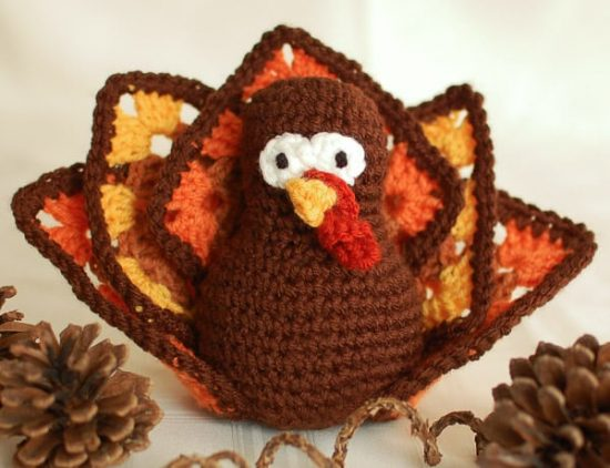 Thanksgiving Turkey FREE Crochet Pattern