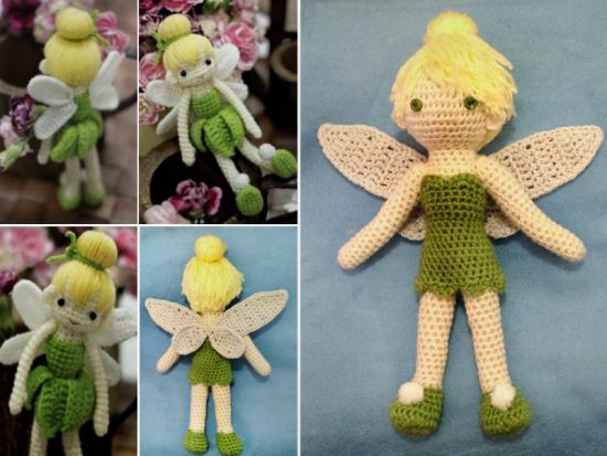 Tinkerbell Free Crochet Doll