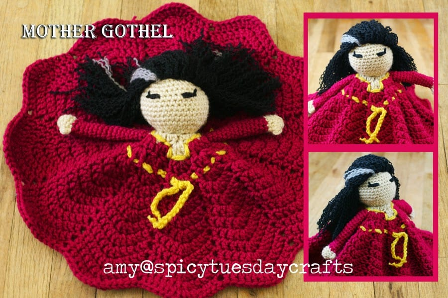 Villains Lovey FREE Crochet Pattern
