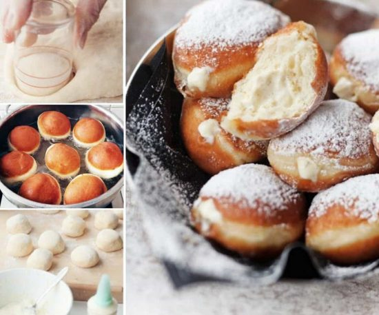 Berliner Recipe Doughnut