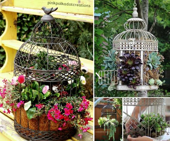 how to make a birdcage out of wire
