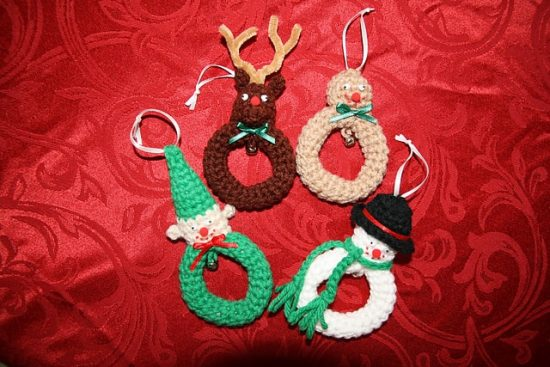 Crochet Christmas Ornaments Free Pattern