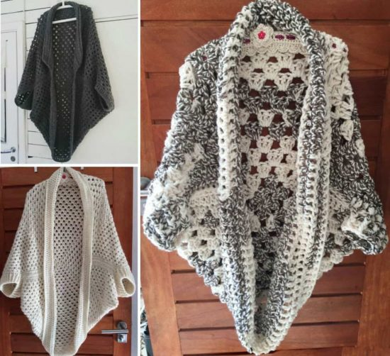 Crochet Cocoon Shrug Pattern Ideas The Whoot