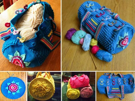 Mermoz Round Crochet Bag Is A Free Pattern The Whoot