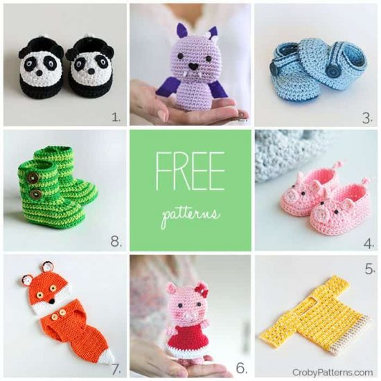 Cute Crochet Free Patterns