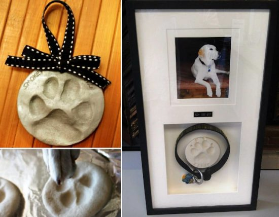 Dog Paw Print Tutorial