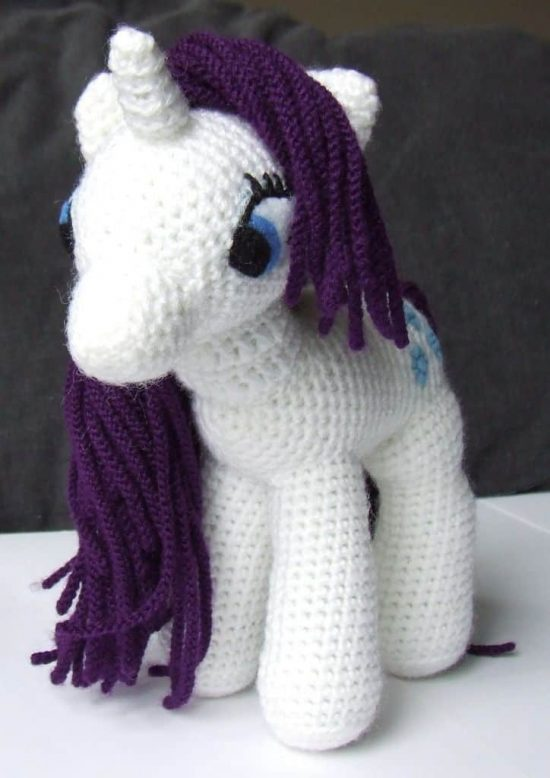 The Most Adorable Unicorn Crochet Patterns - Once Upon a Cheerio | 778x550