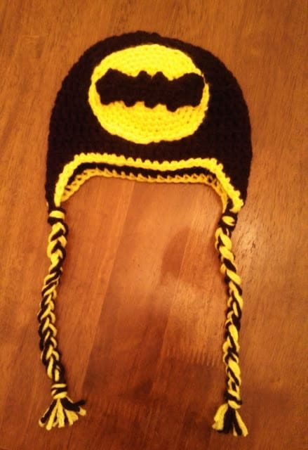 Batman Hat Free Crochet Pattern