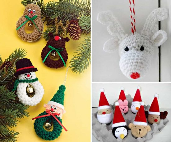 christmas crochet free ornaments